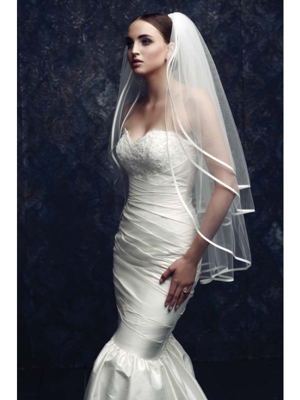 Tulle Wedding Veils ZDRESS2866