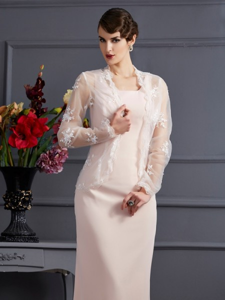 Elegant Net Long Sleeves Special Occasion Wrap