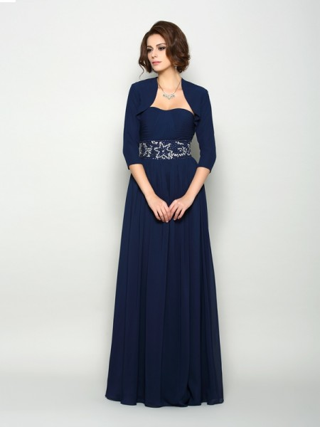 Elegant Chiffon 3/4 Sleeves Special Occasion Wrap