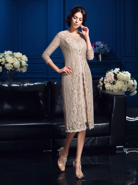 Elegant 3/4 Sleeves Lace Special Occasion Wrap