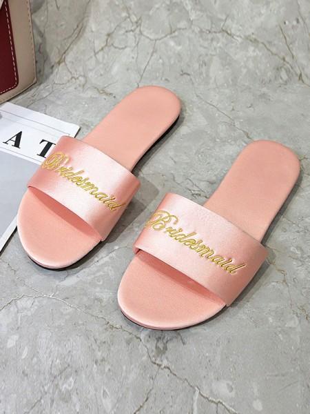 Charming Cloth Bridesmaid Slippers