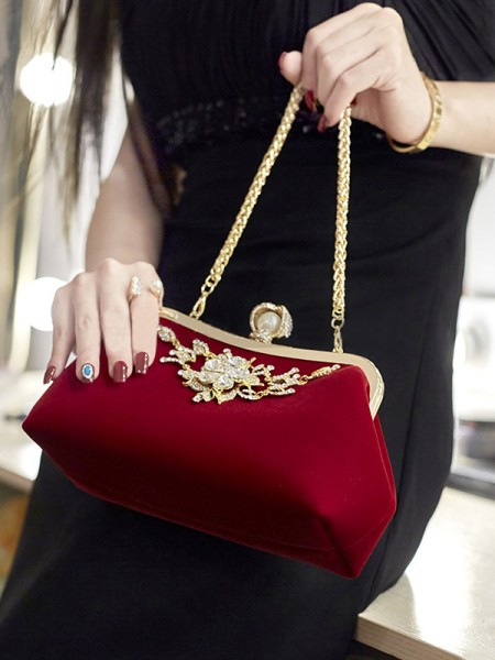 Elegant Rhinestone Handbags