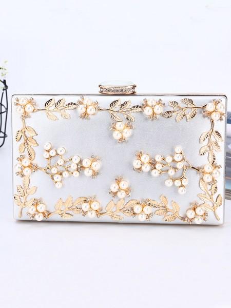 Luxurious PU Handbags With Beading