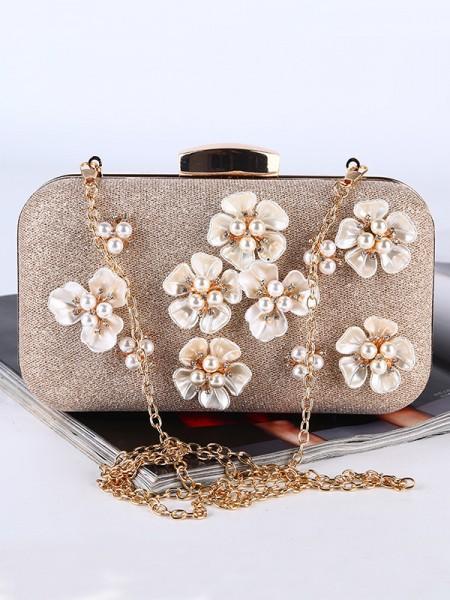 Pretty Pearl Flower Handbags