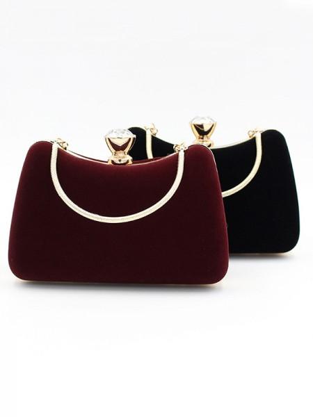 Luxurious Velvet Handbags