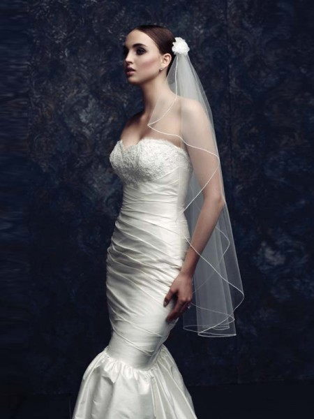 Tulle With Wedding Veils ZDRESS2870