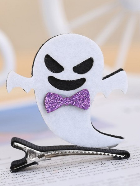 Halloween Lovely Metal With Ghost Hairpins For Children