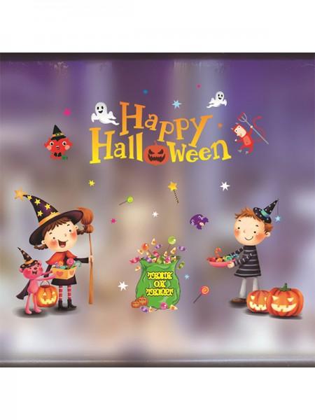 Halloween Amazing Paper Static Stickers