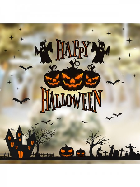 Halloween Lovely Paper Static Stickers