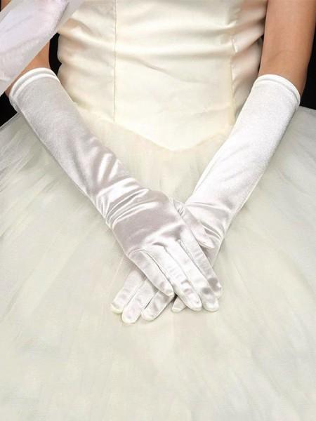 Pretty Cloth Wedding Gloves
