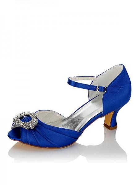 Cheap Satin Wedding Shoes SW014031211I