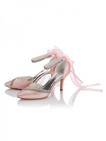 Cheap Satin Wedding Shoes SW016217A1I