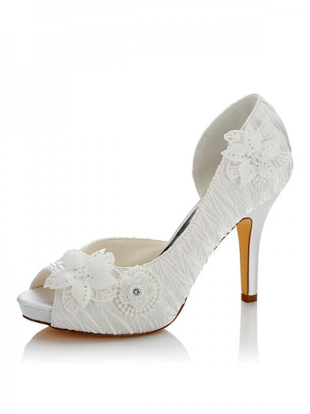 Chic Satin Wedding Shoes SW03704F1I