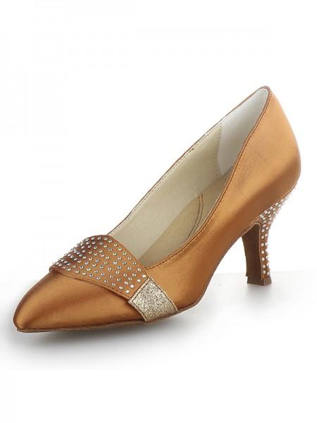 Satin Cone High Heels SW162421I