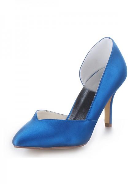 Cone Satin High Heels SW18390B191I