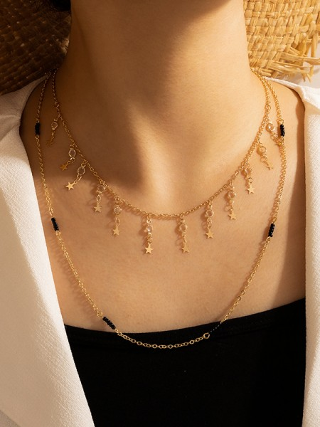 Unique Alloy With Star Necklaces For Women