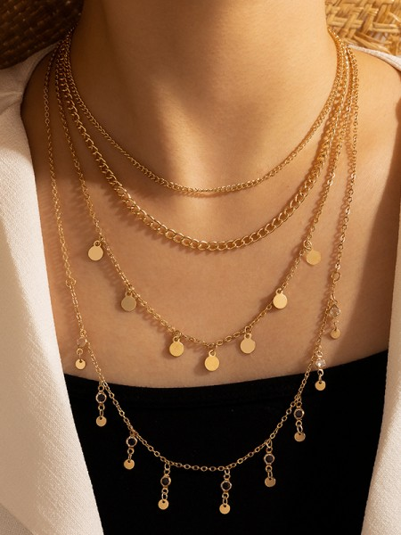Trendy Alloy Hot Sale Necklaces For Ladies