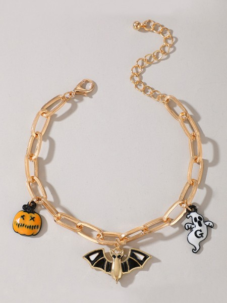 Halloween Unique Alloy With Ghost/Pumpkin Bracelets