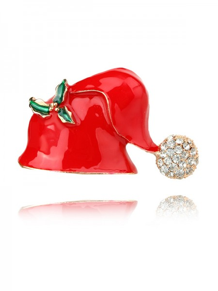 Christams New Hot Alloy Brooches