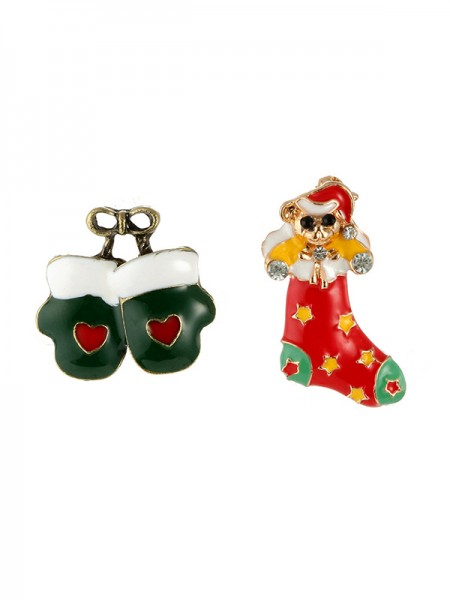 Christams Unique Bear Alloy Brooches(2 Pieces)