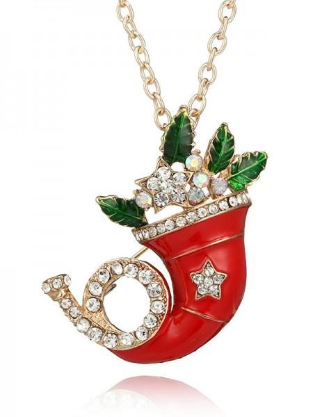 Christams Elegant Alloy Necklaces