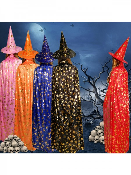 Halloween Gorgeous Cloth Cloak For Children(Without Hat)
