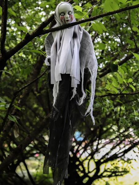 Halloween Horrifying Plastic Hanging Ghost