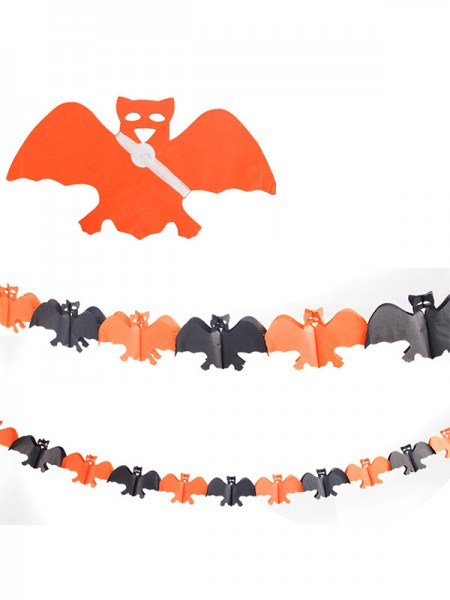 Halloween Pretty 3 Meters Paper Banner Bunting Decoration
