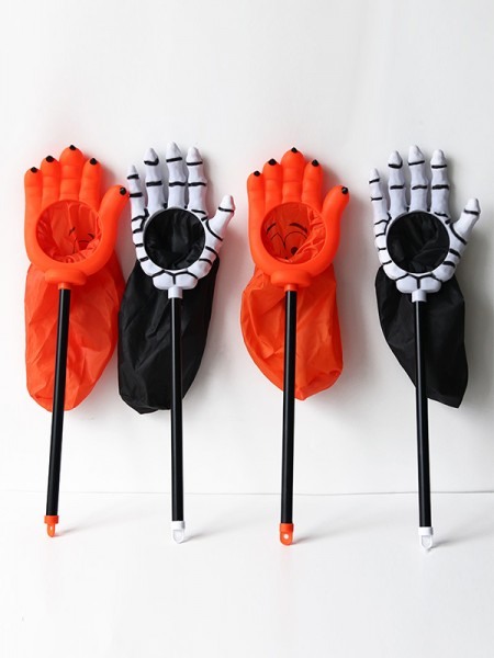 Halloween Classic Plastic Trick Or Treat Candy Holder