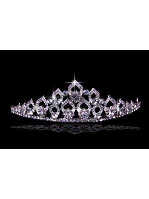 Bonita Liga com Czech Imitação de Diamantes Tiaras de casamento