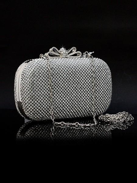 Imitação de Diamantes Bolsas Noturnas