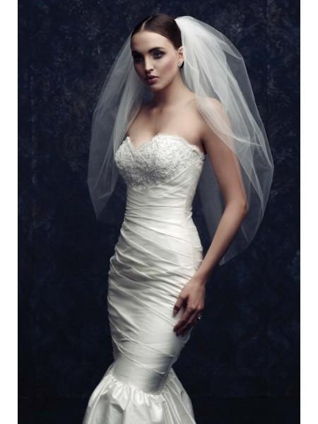 Elegant Tule Véus de Noiva