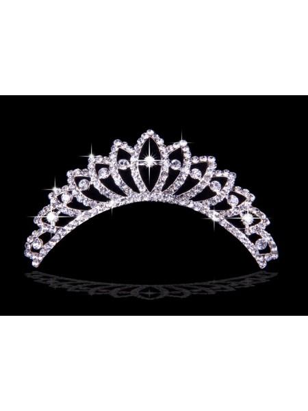 Stunning Liga com Czech Imitação de Diamantes Tiaras de casamento