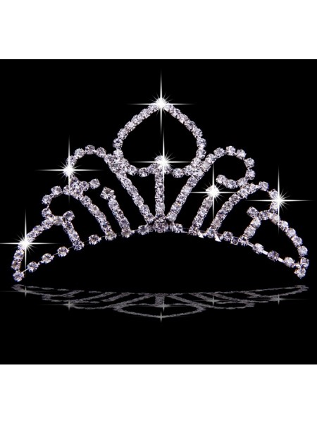Very Bright Czech Imitação de Diamantes Tiaras de casamento